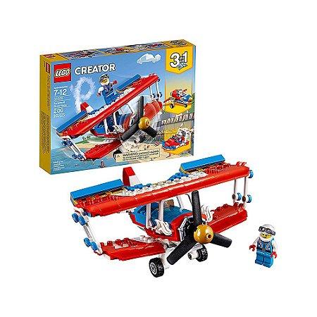 31076 - Lego Creator 3 em 1 - Jogo de Construção de Aviões Duplos