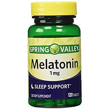 Suplemento Melatonina 1mg Spring Valley 120 Cápsula