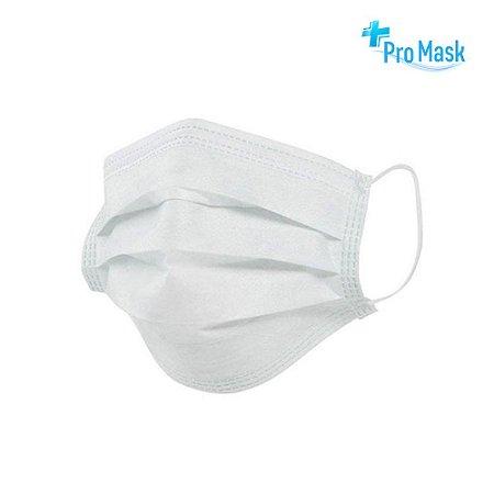 Máscara Descartável Importada Pro Mask Dupla Proteção Qualidade E Confiabilidade Tripla Camada Com Clipe Nasal