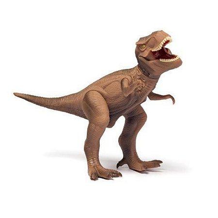Brinquedo Dinossauro T Rex Coleção Dino World Cotiplás