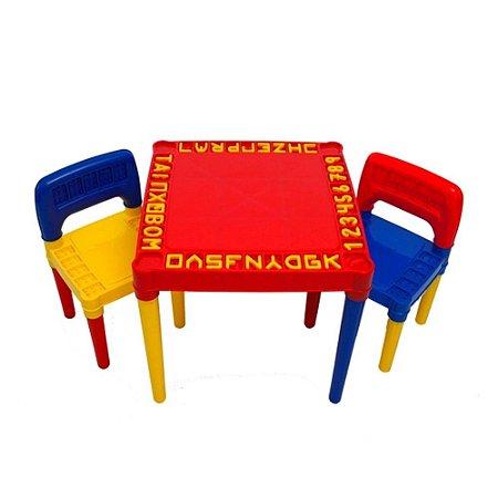 Mesa e Cadeira Educativa Para Menino - 3827 Tritec