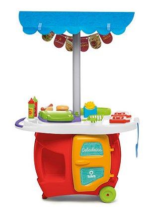 Brinquedo Super Divertido Food Truck Tateti Calesita 14 Pçs