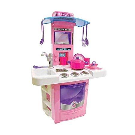 Brinquedo Infantil Big Cozinha Pia e Fogão Big Star