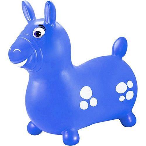 Brinquedo Cavalinho No Saco Upa Upa Azul - Lider