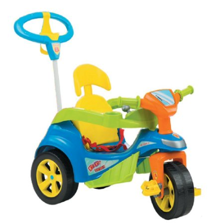 Brinquedo Infantil Baby Trike Evolution Azul - Biemme