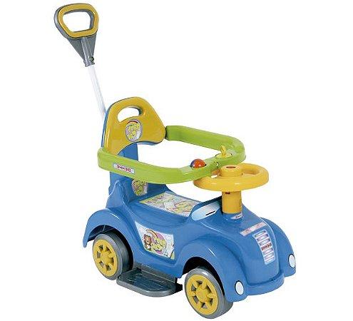 Andador Baby Car Menino Brinquedo Infantil C Haste Removível
