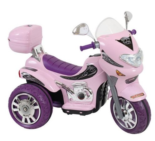 Moto Elétrica Sprint Turbo Rosa Brinquedo Infantil 12V