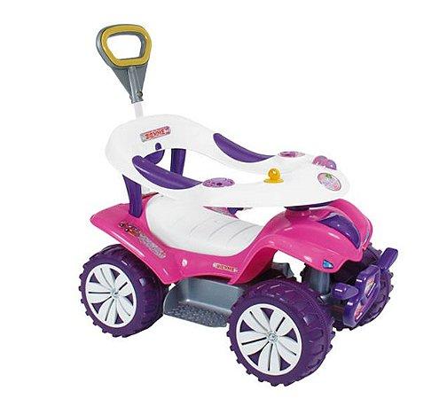 Andador Sofy Car Style Infantil Com Haste Biemme 719