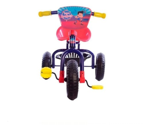 Triciclo Boy Infantil Turma Da Aventura Azul Unitoys 1388