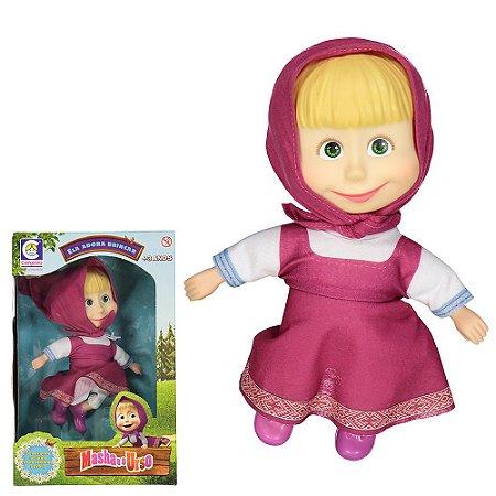 Brinquedo Boneca Masha Cotiplás Desenho Masha e o Urso