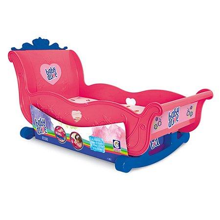 Brinquedo Infantil Bercinho para Boneca Baby Alive Cotiplás