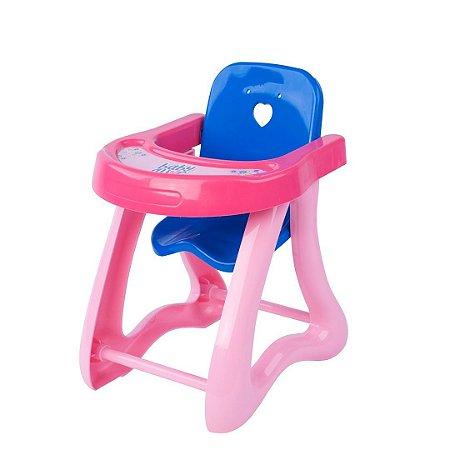 Brinquedo Mini Cadeira De Papinha Baby Alive Cotiplás 2174