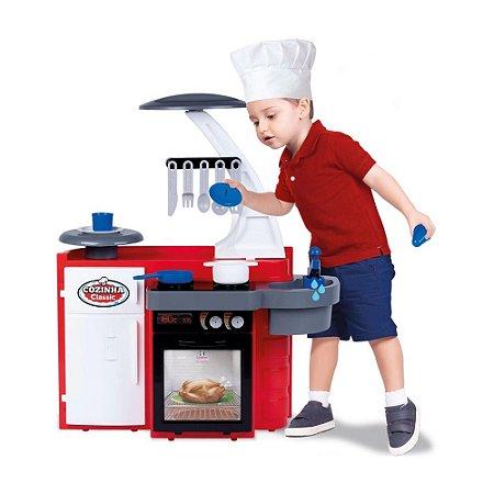 Brinquedo Cozinha Classic Fogão para Menino Cotiplás 2437