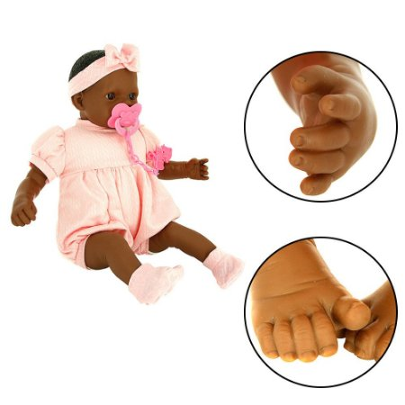 Bebê Reborn Coleção Ninos Pesadinha Negra