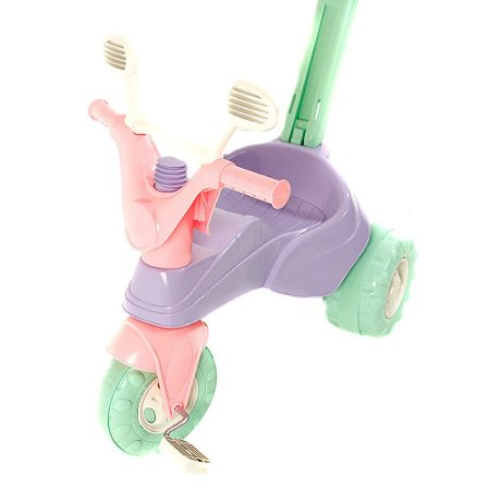 Brinquedo Triciclo Star Girl Roxo Cotiplás Music 1464