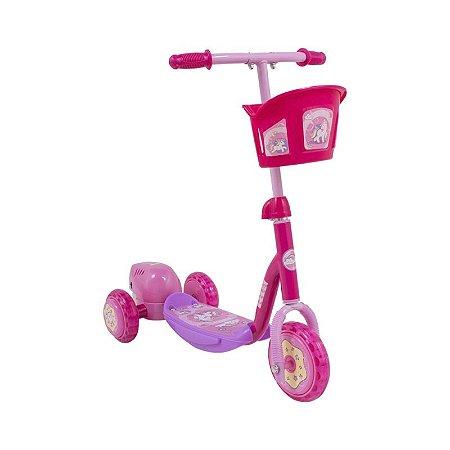 Brinquedo Infantil Patinete Bolhas de Sabão