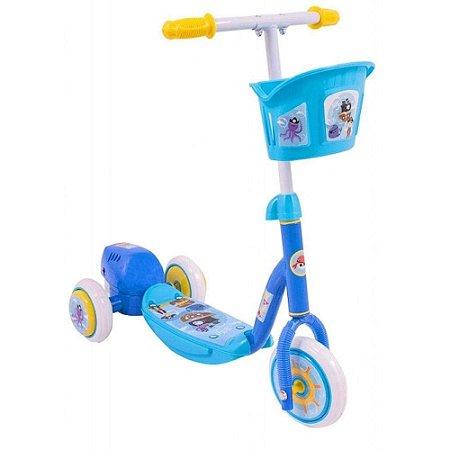 Brinquedo Infantil Patinete Bolhas de Sabão Bel Fix Azul