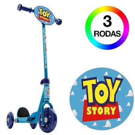Patinete Infantil 3 Rodas Azul Toy Story Bel Fix 406800