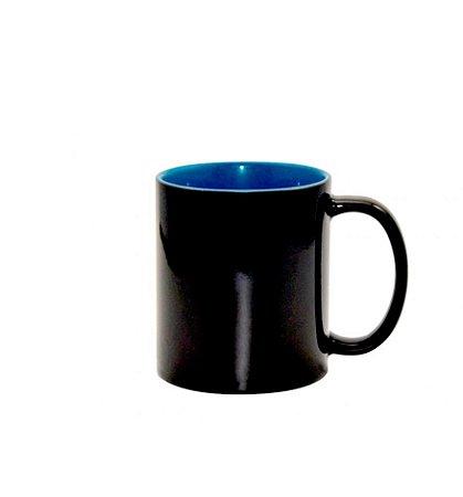 Caneca Magica Brilho Interior Azul 325ML
