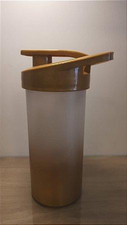 Squeeze Plastico Degrad Tampa Dourada 500ml - Transfer Laser