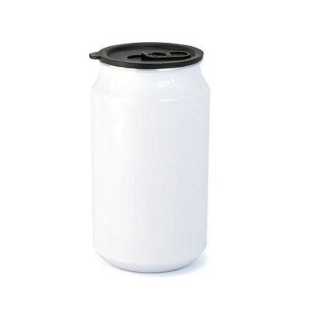 Lata Branca para Sublimação em Alumínio - 350ml