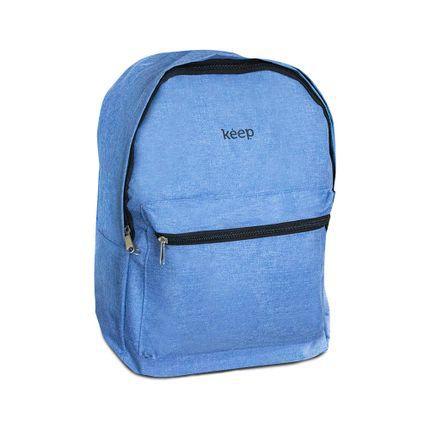 Mochila Keep Colors Multilaser  Azul