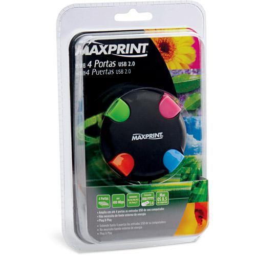 HUB USB MAXPRINT COLORIDO