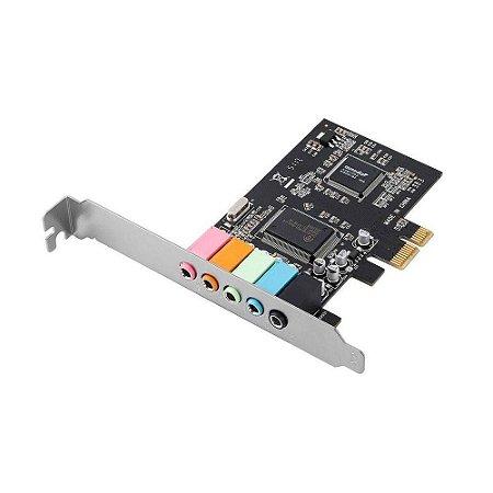 Placa de Som Empire PCI 5.1