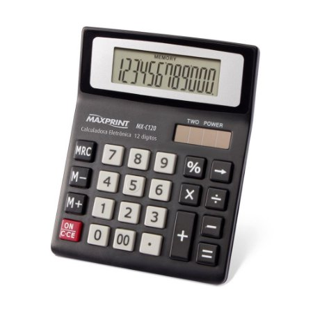 Calculadora Maxprint Mx C120 Mesa
