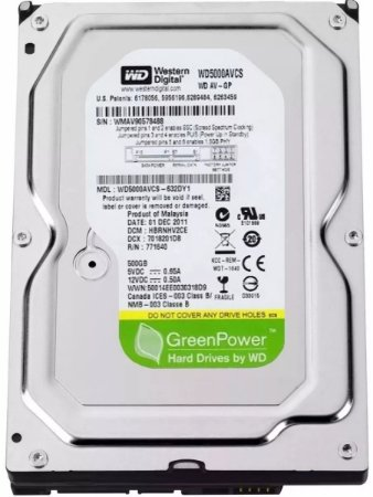 Hd Western Digital 500gb