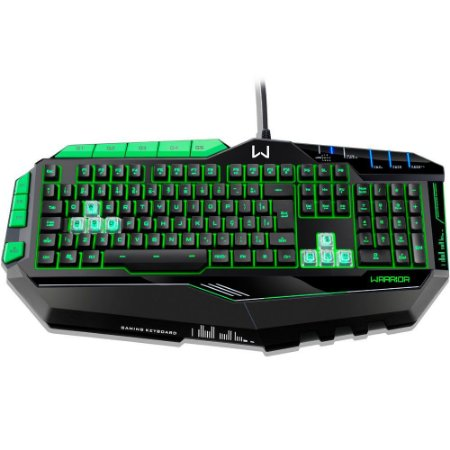 Teclado Multilaser Gamer Warrior Semi Mecânico