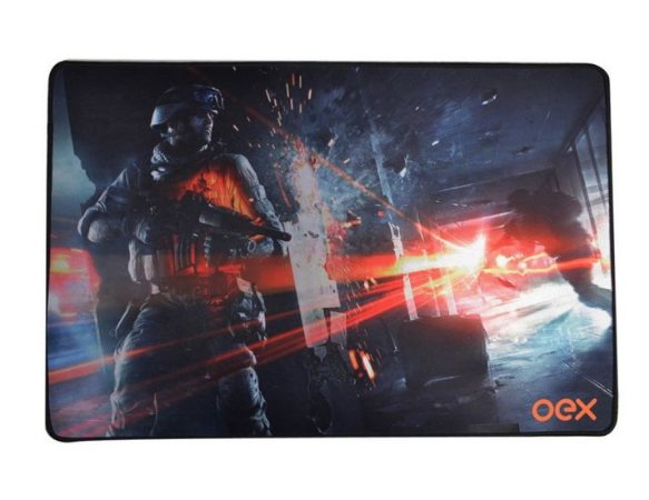 MOUSEPAD GAMING OEX BATTLE 50X33 cm
