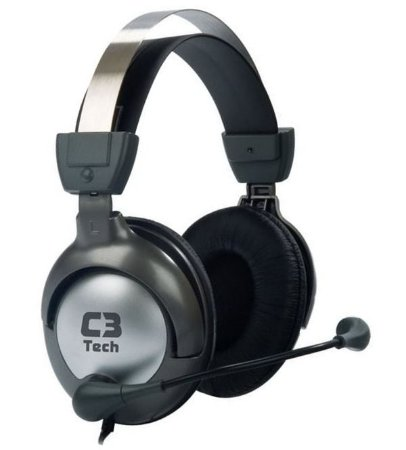Headset Gamer Raptor MI-2870RS Preto C3 TECH
