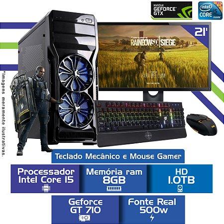 Pc Game i5,Mem 8Gb,Hd 1Tb,Tela 21,Gt710