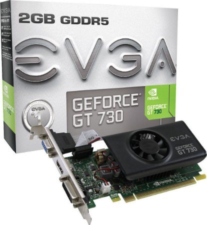 Placa de Vídeo GT730 2gb GDDR5 128 bits