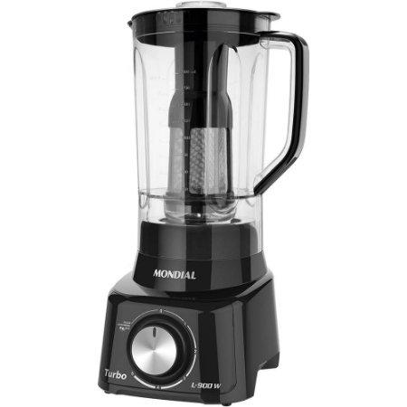 Liquidificador mondial Turbo Full Black 900w