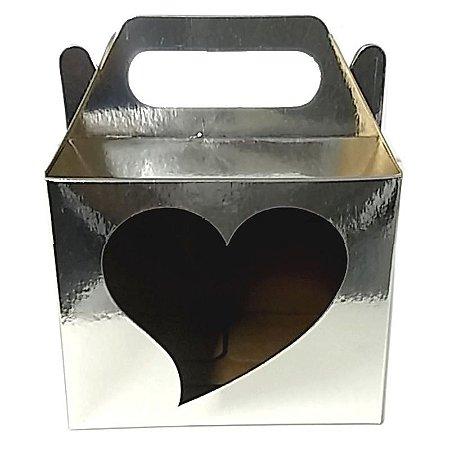 Caixinha para Caneca Sublimável Coração 20Unid