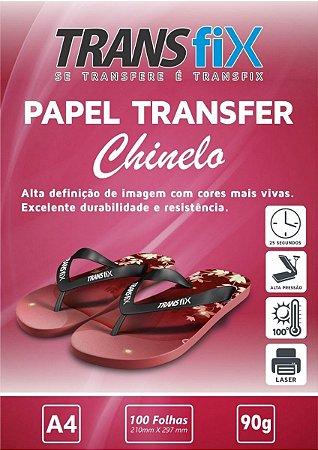 Papel Transfer Laser Chinelos Transfer
