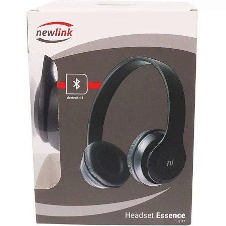 Fone Bluetooth Newlink Sd Fm Essence Hs117