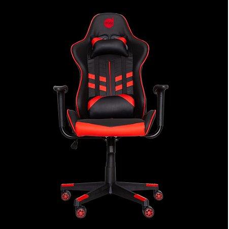 Cadeira Gamer Prime-X 2D Preto/Vermelho