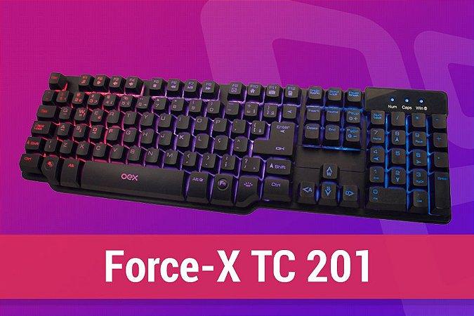 Teclado Gamer FORCE-X TC201
