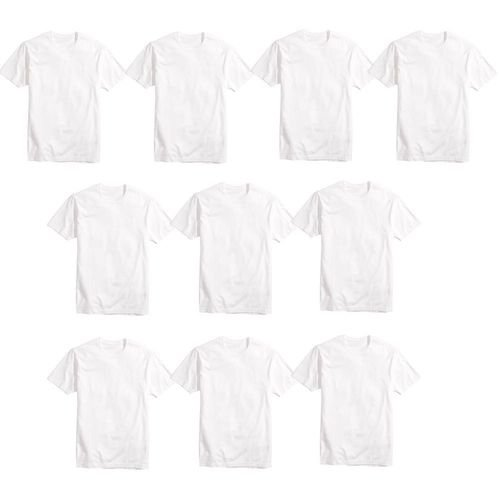 Camisa Básica Poliéster Branca TAM (P) 15UND