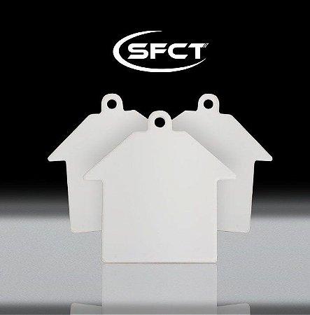 Chaveiro Casa Polimero SFCT - 10 Unidades