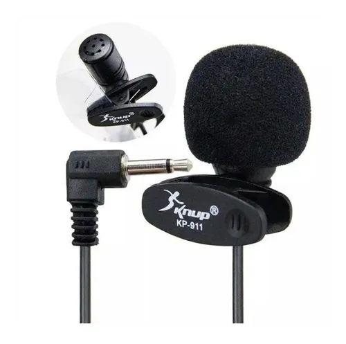 Microfone De Lapela Mini 3,5mm