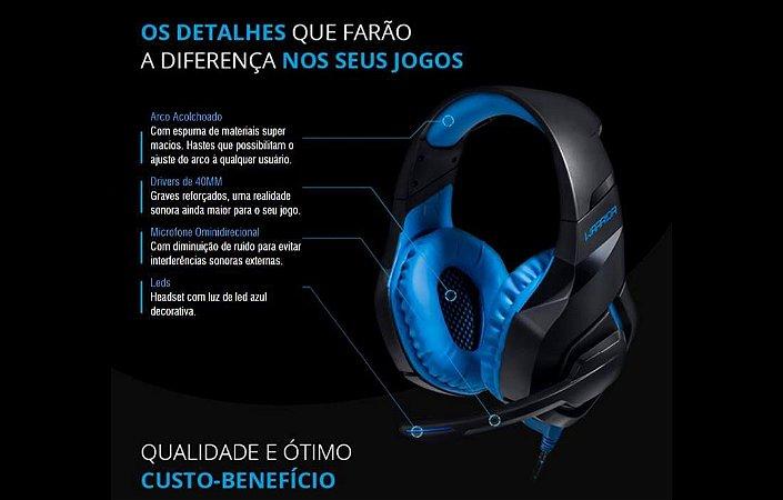 Headset Gamer Multilaser PH244