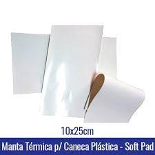 Manta de silicone P/ canecaS Plásticas Polímero SOFT PAD BRANCA