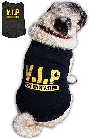 Roupa Para Cachorro Verao - V.I.P (Very Important Pup)