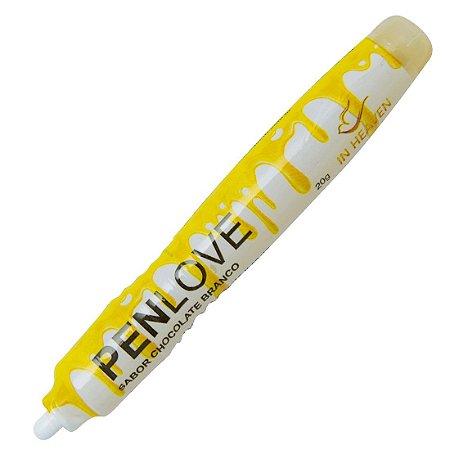 Pen Love - Chocolate Branco