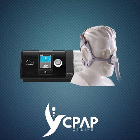 Kit CPAP ResMed AirSense S10 + Máscara Nasal Philips Wisp