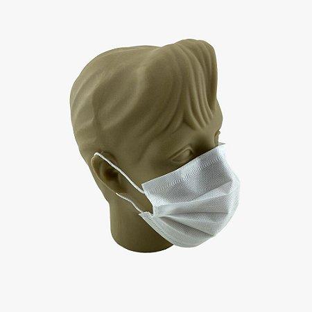 Kit com 50 Máscaras Cirúrgicas Descartáveis, 5 camadas fusionadas SMMMS